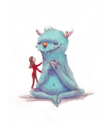 Dissociation little monster and child